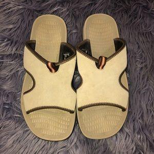 Lands End Slide Sandal Size 11